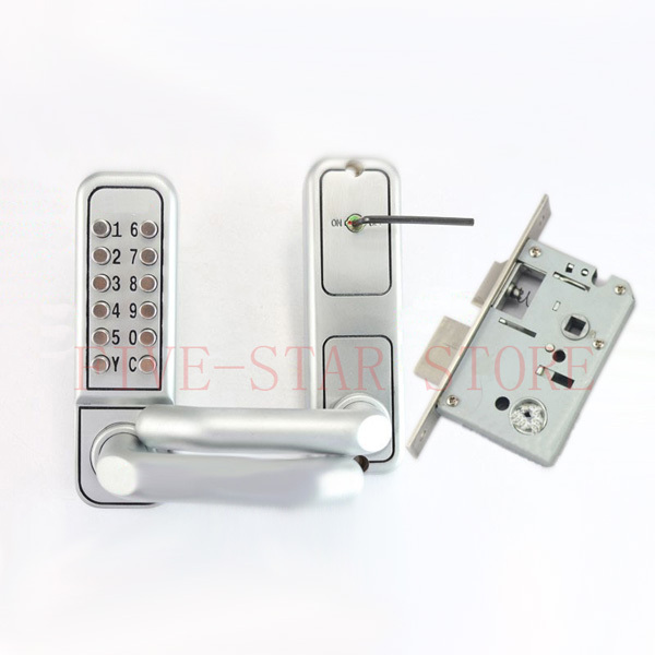 Hot Digital Touch Screen Door Lock With Deadbolt Mortise