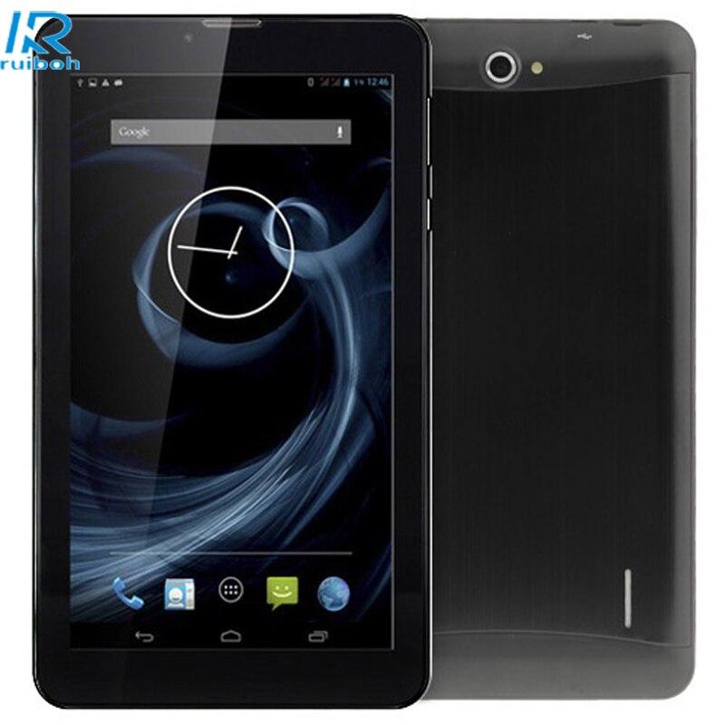 7Tablet PC Android 4.4 Dual SIM 3G GSM ARM Cortex-A7 Duai Core 1G+16GB Phablet 2 Camera Phone GPS Wi-Fi Bluetooth Tablet PC samsung galaxy s4 2 ядра dual 5 дюймов wi fi duos android 4 0 2 sim