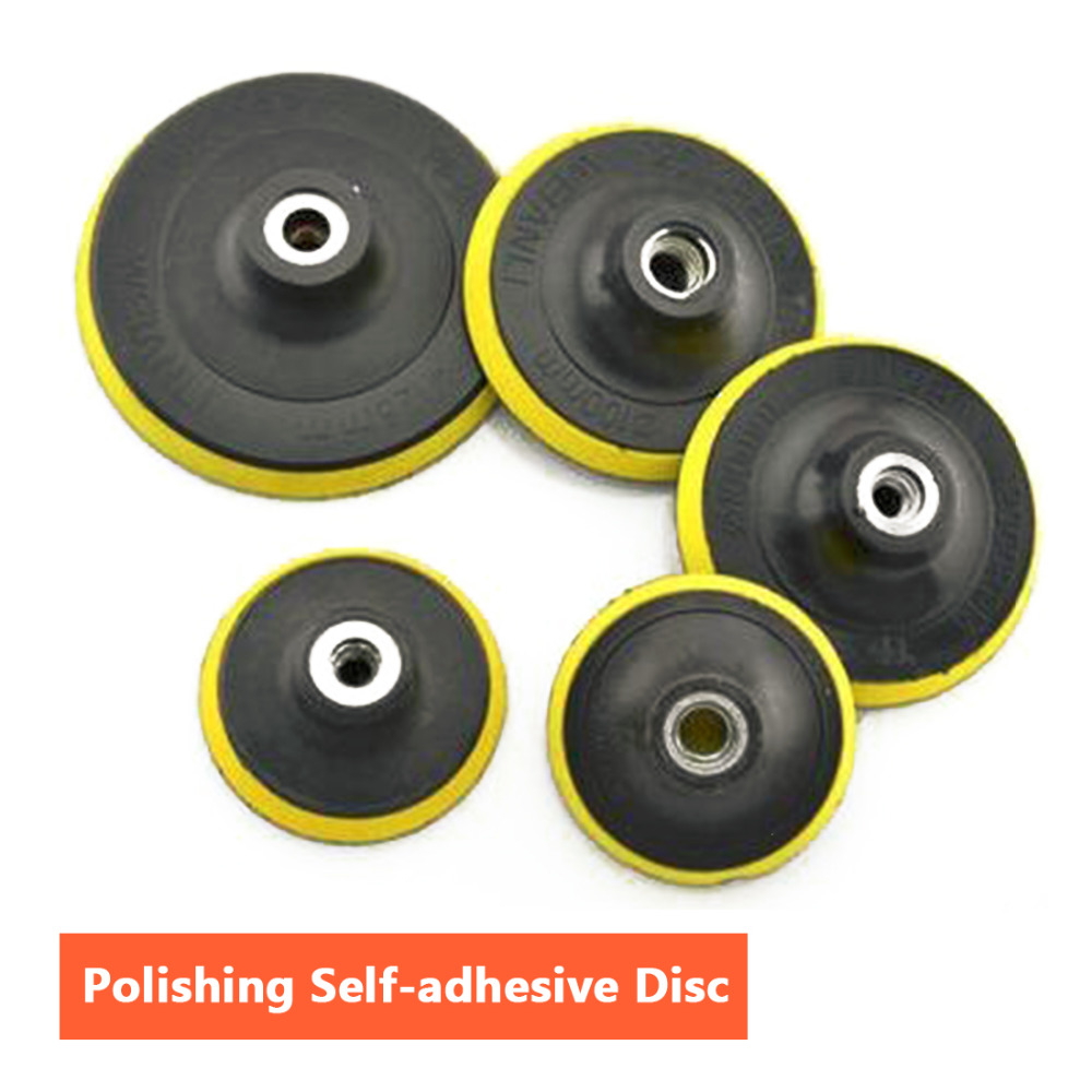 Car Polishing Tools Set 3/4/5/6/7 Inch Buffing Pad Kit Compound-polishing-auto Car Detail+drill Adapter-m10 Wide Selection; Tools