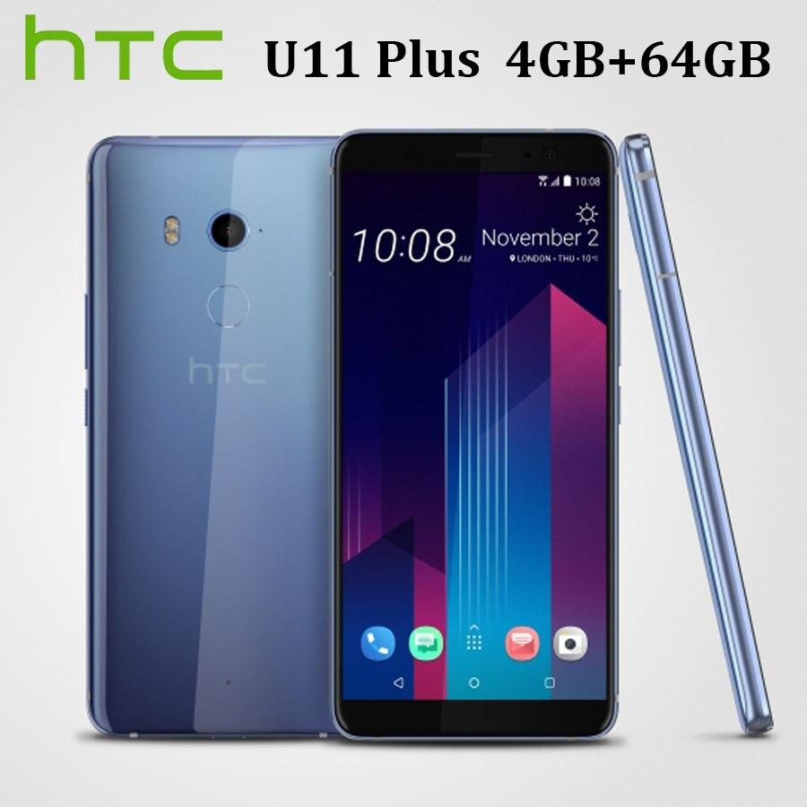 HK Version HTC U11 Plus U11+ Dual SIM 4G LTE Mobile Phone 4GB RAM 64GB ROM Octa Core 6.0