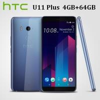 HK Version HTC U11 Plus U11+ Dual SIM 4G LTE Mobile Phone 4GB RAM 64GB ROM Octa Core 6.01440x2880P 18:9 Full screen Android 8.0