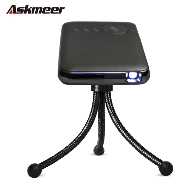 Portable Mini Home Cinema TV Projector Android 4.4 Smart DLP LED Wifi HD Proyector Support Business/Outdoor Video Play