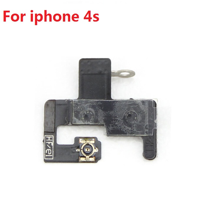 New Genuine Wireless GPS Signal Antenna Flex Ribbon Cable buckle for iphone 4S wifi signal flex cable cover replacement Parts