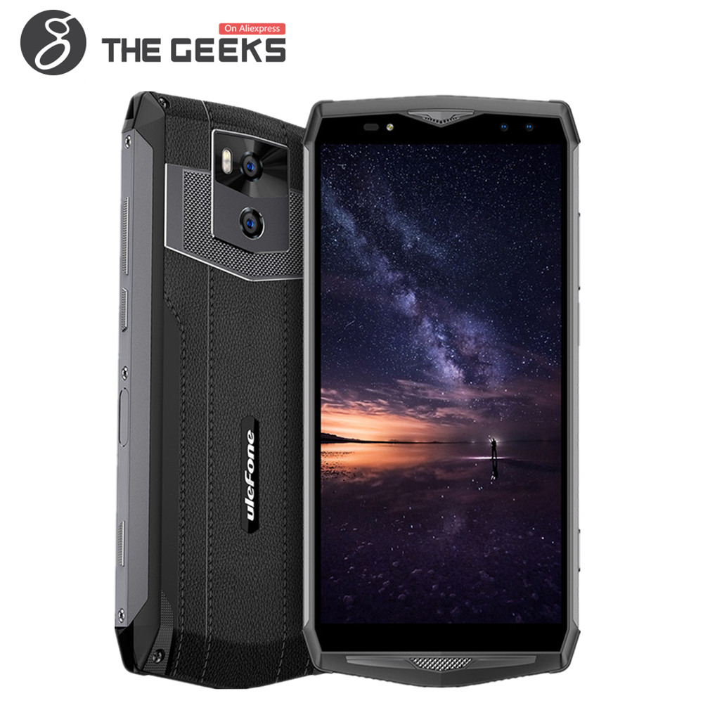 Ulefone Puissance 5 Android 8.1 MTK Octa base 6.0 pouces 6 GB + 64 GB 21MP 13000 mAh chargeur Sans Fil Fingprint Visage ID VoLTE 4G Smartphone
