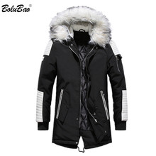 BOLUBAO Brand New Men Winter Parka Jacket Man Thermal Thick