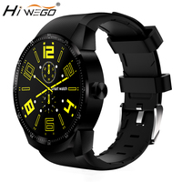 HIWEGO K98H 3G GPS Wifi Smart Watch Android 4.1 Support SIM Heart Rate Tracker 1.2GHz 4GB ROM Waterproof Bluetooth Smart Watch