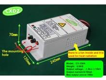 Generador de fuente de alimentación de alto voltaje con 15kV para purificación de aire purificadores eléctricos de polvo de aceite de humo, ionizador de aire, campo