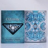 Free Shipping 1 DECK Fathom Premium Ellusionist Deck Magic Tricks Bicycle Playing Cards Magic Tricks New