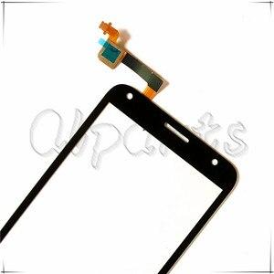 Image 2 - 空洞タッチスクリーンガラスアルカテルワンタッチピクシー4 5.0 ot 5010 OT5010 5010D 5010E 5010グラムOT 5010タッチスクリーンデジタイザセンサー