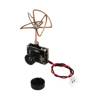 1pcs 800TVL FPV Camera with 5.8G 72CH 25/50/200mW Transmitter and Clover Leaf Antenna for Quadcopter Multiroter Aircraft