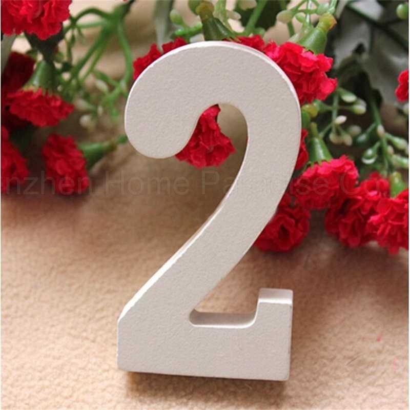 Цифровые цифры Деревянные Настенные стикеры s 3D декоративные деревянные цифры DIY наклейки для свадьбы, дня рождения, вечеринки настенные наклейки домашний декор