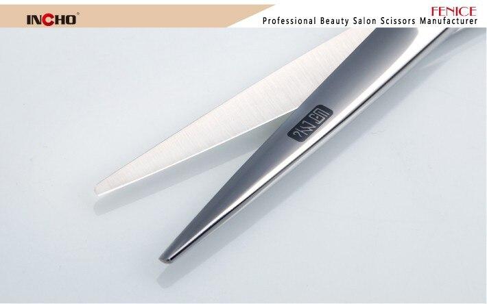 6 polegada corte de cabelo desbaste tesoura