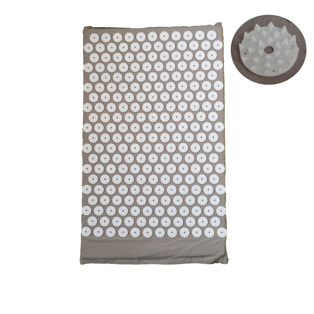 27nails/spike Acupressure Massage Mat Shakti Cushion Head Back Pad Yoga Mat Relax Body Massager Pain Relieve Mind Stress MP0009 hot acupressure spike yoga pillow mat relieve stress pain relief acupuncture cushion neck back shakti massager body relax