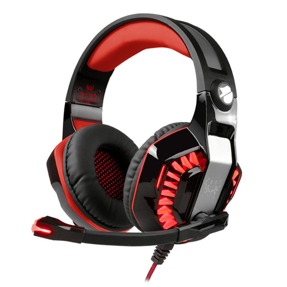 Hot Sale Lightweight Gaming Headset With Microphone LED Headband Luminous Gamer Headphones For PC Computer Drop Shipping gaming headset led light glow noise cancealing pc gamer super bass headband headphones with microphone for computer pc