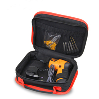 Multi Function Drill Tool Bag Large Space For Cordless Drill Easy Open High Quality Zipper Light