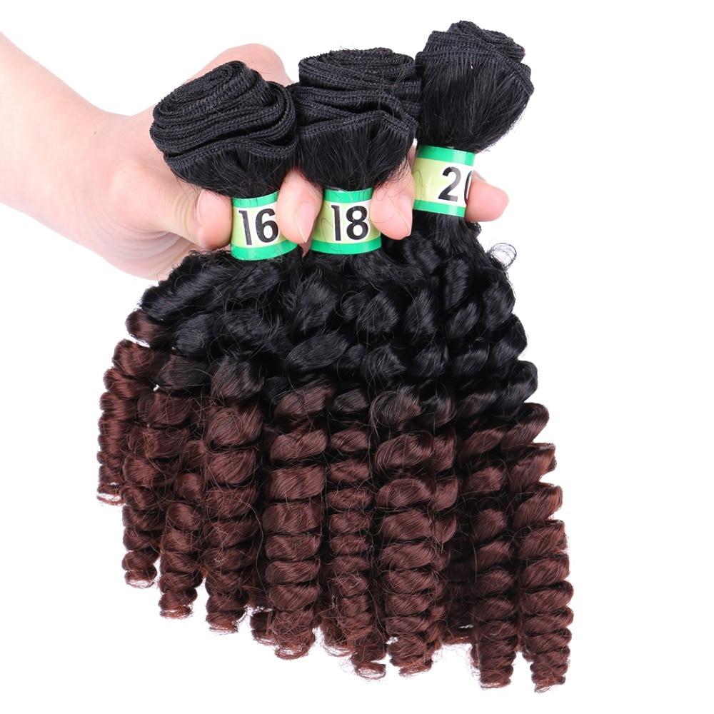 613 preto ao marrom verde Vermelho tecelagem do cabelo