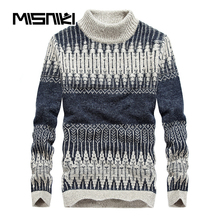 MISNIKI Hot Fashion Herbst Winter Strickpullover Men Casual Warm herren Pullover Pullover