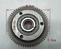 A29 60 Tooth Over Running Starter Drive Clutch For CG250 200cc 250cc ATV Dirt Pit Bike Quad Replacement Parts Three Wheeled