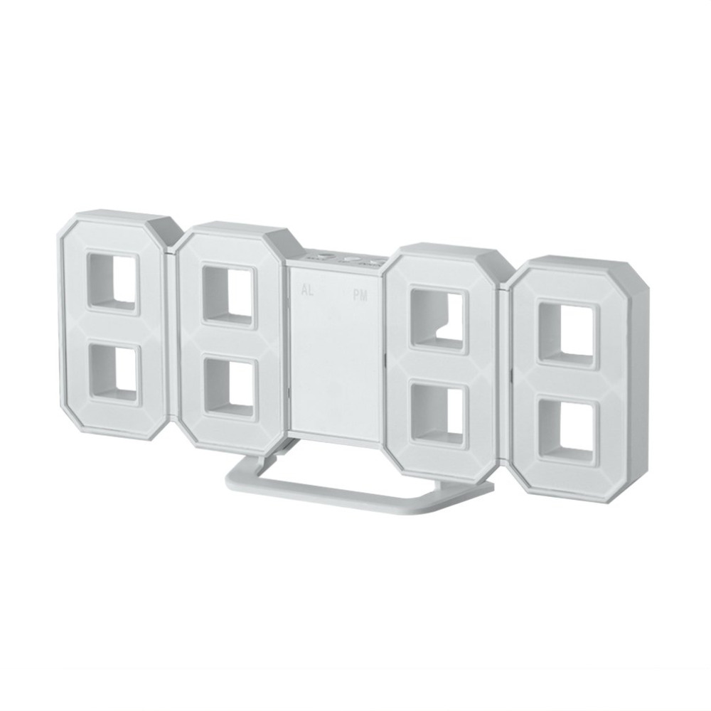 8 Shaped LED Display Digital Table Clocks Thermometer Hygrometer Calendar  Weather Station Forecast Desktop Clock Drop Shipping - us305 6df9e56f53