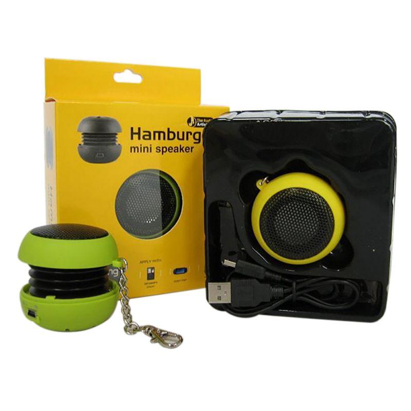 Fashion Mini Hamburger Top Sell Speaker