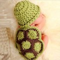 Newborn baby handmade crochet knitted photography props all match children's clothing accessories