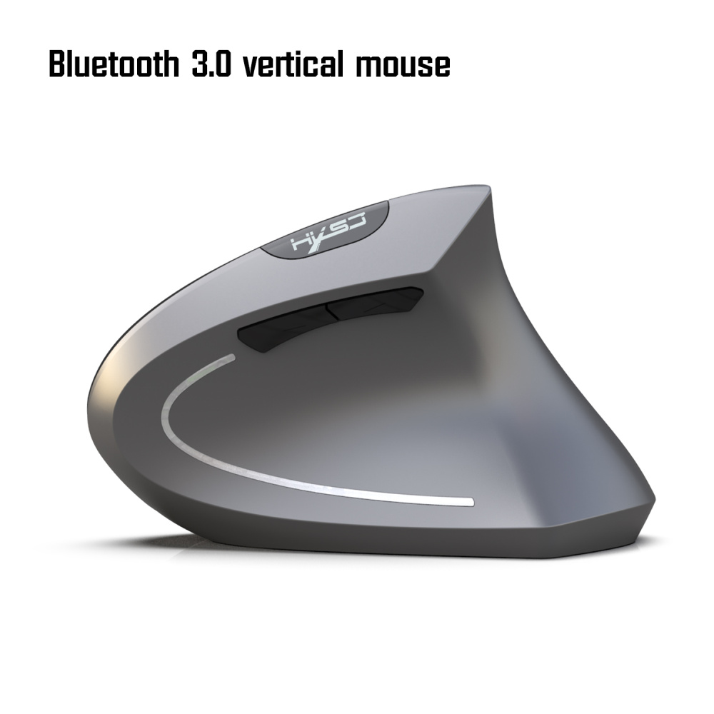 Image 2 - HXSJ new Bluetooth vertical mouse ergonomics 800/1600/2400DPI prevention mouse hand game office mice Pc notebook accessories-in Mice from Computer & Office