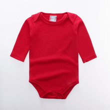 Infant Clothing Baby Boys Bodysuits Long Sleeve Cotton Jumpsuits Newborn Girls Clothes Toddler Spring Autumn Pullover Costume