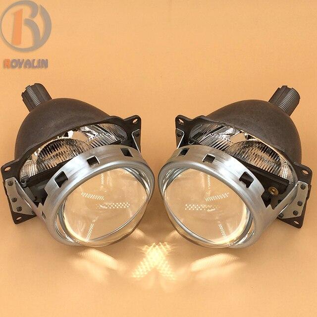 """3.0 """"HID Bi Xenon Lente Do Projetor para RHD LHD Koito Q5 Full Metal para H1 H4 H7 9005 9006 Bulb Car Light Farol sem Mortalha"""
