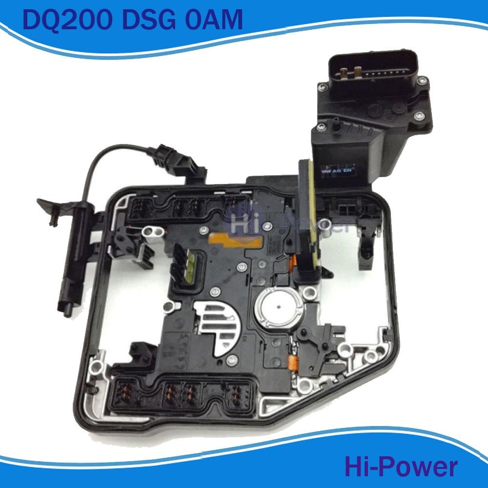 DQ200 0 AM DSG unité de commande 0AM927769D remise à neuf Module de transfert Double embrayage convient pour Audi VOL KSWAGEN Skoda 69 K 7 vitesses