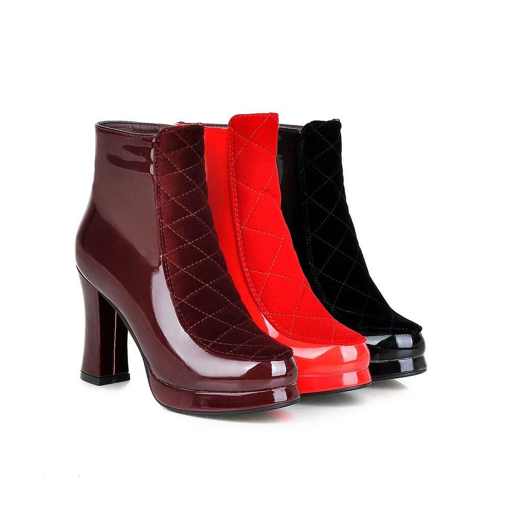 AIWEIYi - Strap alla caviglia donna , nero (Red), 41