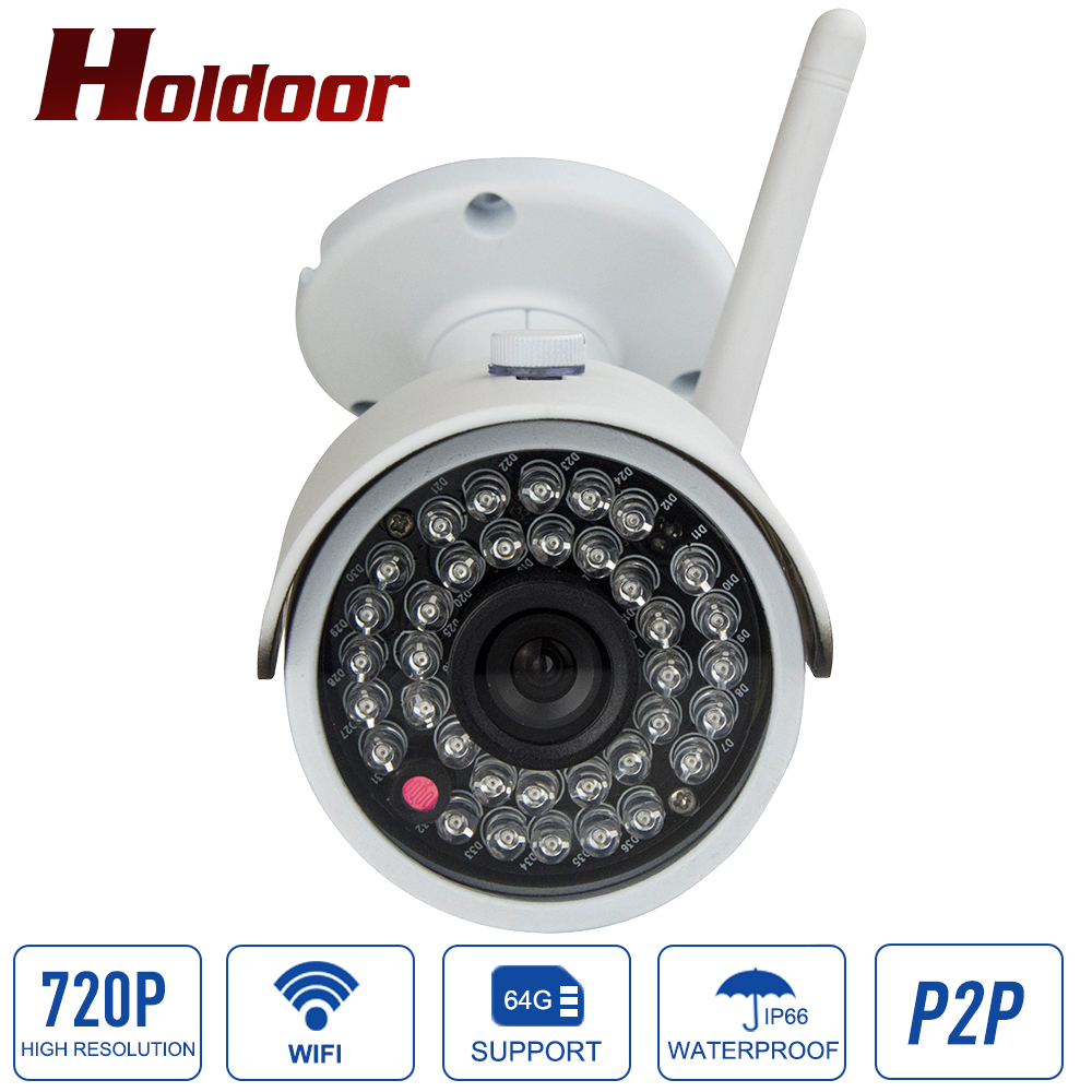 HD 1mp IP camera 720p wifi outdoor IP66 waterproof P2P Wireless mini Onvif IR Night Vision CCTV Cam security surveillance outdoor 720p ip camera hd wireless wifi array ir night vision bullet onvif waterproof cctv security ip 1mp network web camera