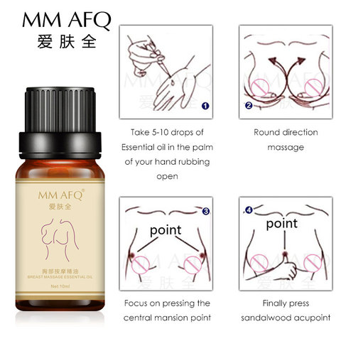 Breast Enlargement Plump Essential Oil 10ml Enlarge Growth Big Boobs Firming Busty Breast Massage Oil for Women Beauty Products Lahore