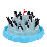 Penguin Iceberg Pile Up Breaking Puzzle Table Games Balance Ice Cubes Building Parent Child Interactive Desktop