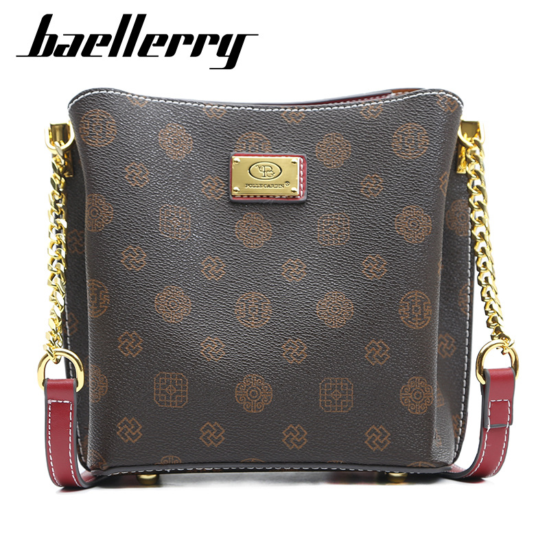 Baellerry woemn shoulder bags high quality designer crossbody bags for lady vintage messenger bag leather handbags Luxury Women Women's Bags cb5feb1b7314637725a2e7: style 1 brown|style 1 pink|style 1 red|style 2 brown|style 2 gray|style 2 red