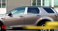 Для Land Rover Discovery Спорт 2015 2016 нержавеющая хром полный оконные наличники крышка 22 шт./компл.