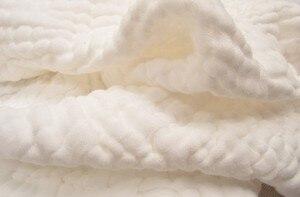 Image 5 - Manta de gasa de algodón arrugado de 6 capas, 100%, algodón, talla grande y color personalizado, manta de 142x228 cm, 100 piezas personalizadas