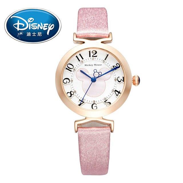 Disney Kids Watch Women Watch Fashion Cute Wristwatches women watch girls Mickey