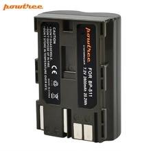 Powtree For Canon 7.2V 2800mAh BP 511 BP-511 BP511 BP511A BP-511A BP 511A Camera Battery Replacement EOS 300D 5D 10D 20D 30D 40D acmepower bp 511