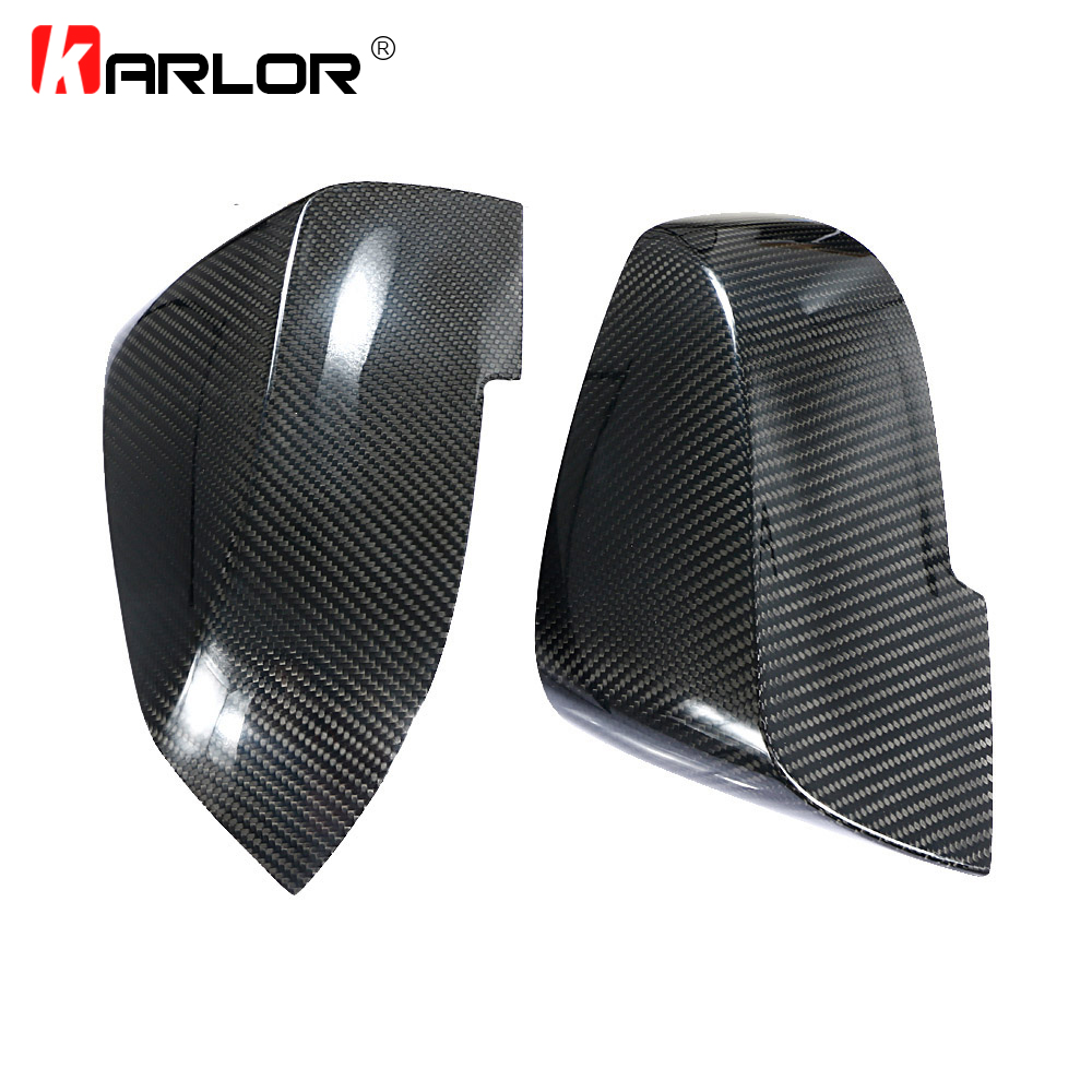 1 Pair F30 Carbon Fiber Rearview Mirror Cover Side Wing Caps for BMW F30 F35 316i 320i 328i 335i Rearview Mirror Case Car stylin