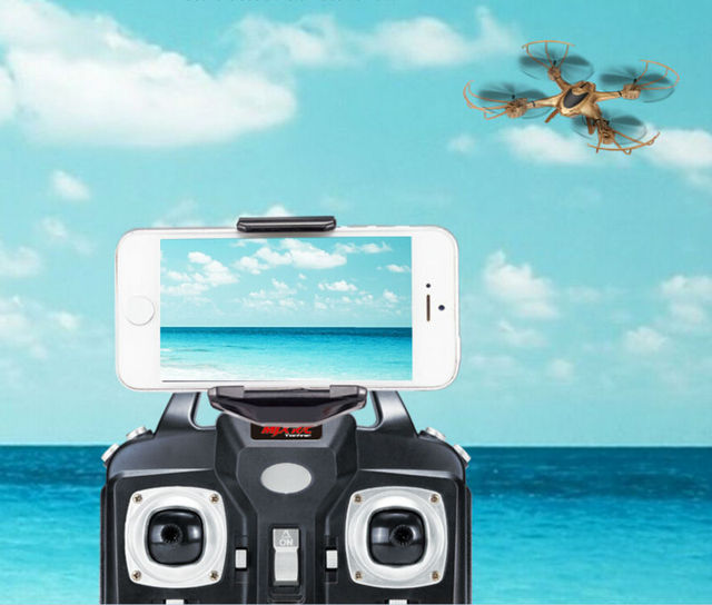 Newest RC Drone MJX X401H WIFI FPV Real-time Air Pressure High Headless APP phone control RC Quadcopter helicopter VS X5HW X601H