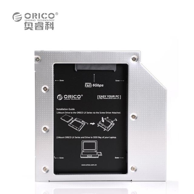 ORICO L127SS CD-ROM Espaço SATA para SATA 2 unidade de disco rígido de 2,5 HDD interno Caddy HDD 12,7 milímetros caddy para Laptops