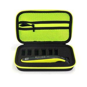 Image 2 - Etui Portable pour Philips OneBlade tondeuse rasoir et accessoires EVA sac de voyage Pack de rangement boîte couverture fermeture éclair pochette avec doublure