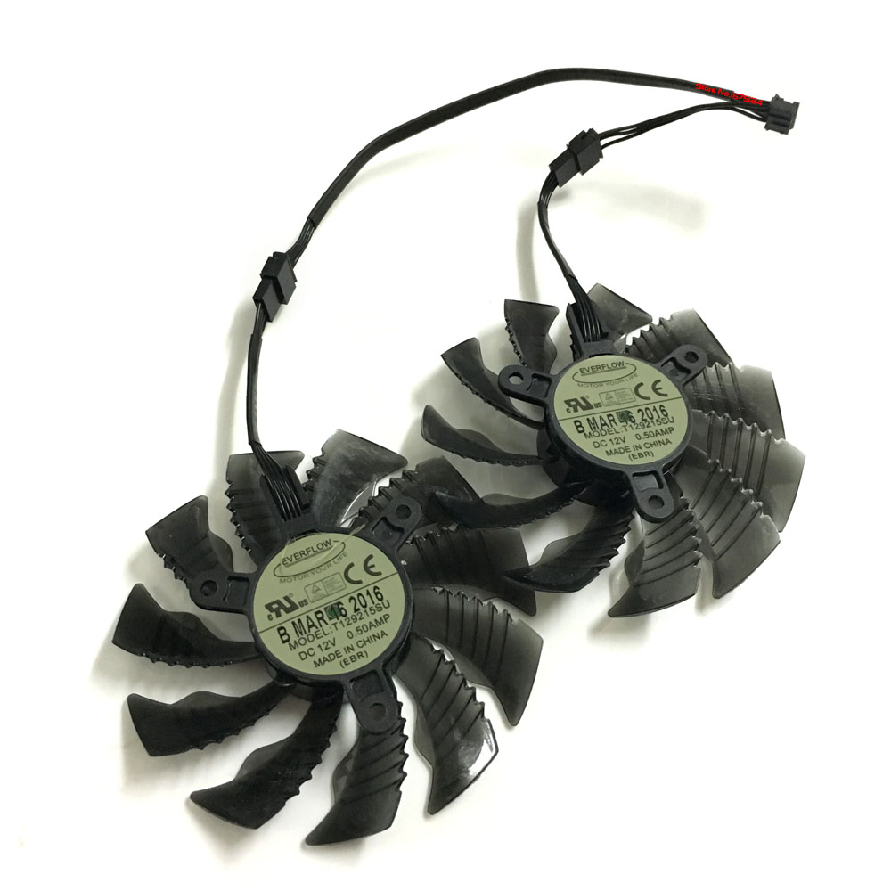 2pcs/lot GTX960/950 GPU cooler Graphics card fans for REDEON GV-N950XTREME C GV-N960WF2OC GV-N950G1 GAMING video card cooling