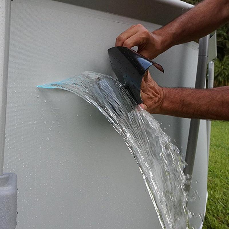 Tubo De Reparación Auto-Cinta de Sellado Impermeable de Caucho Fusionar Auto Adhesivo