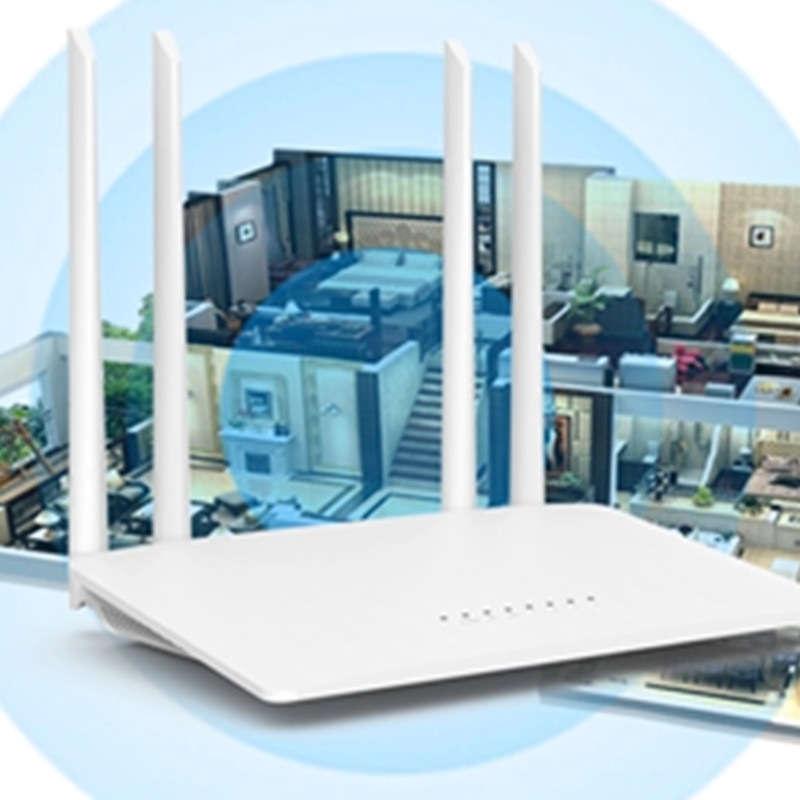 KuWfi 300Mbps Wireless Router 2.4G High-Speed Home Wifi Router Wireless Repeater /AP With 4*5dBi&Antennas Support 32 Devices