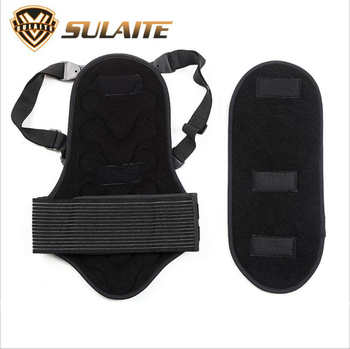 Ski downhill thickening outdoor sports ridges detachable fit the body thickening protection back ridge