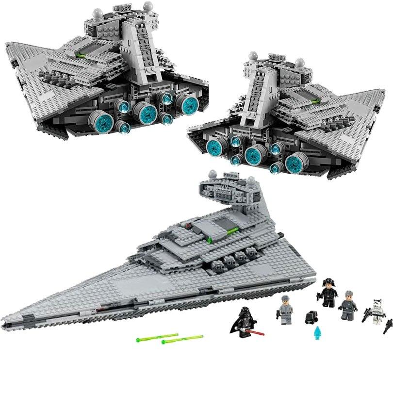 05062 Star Wars le Super destructeur d'étoiles impérial blocs de construction briques jouets compatibles avec Bela Star War 75094