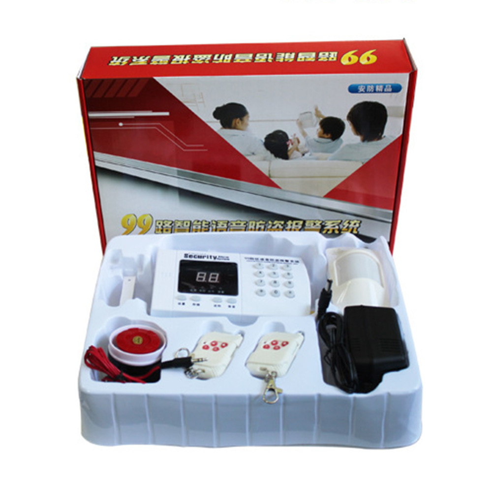Europe Regulations Car Alarm Wireless Home Alarm