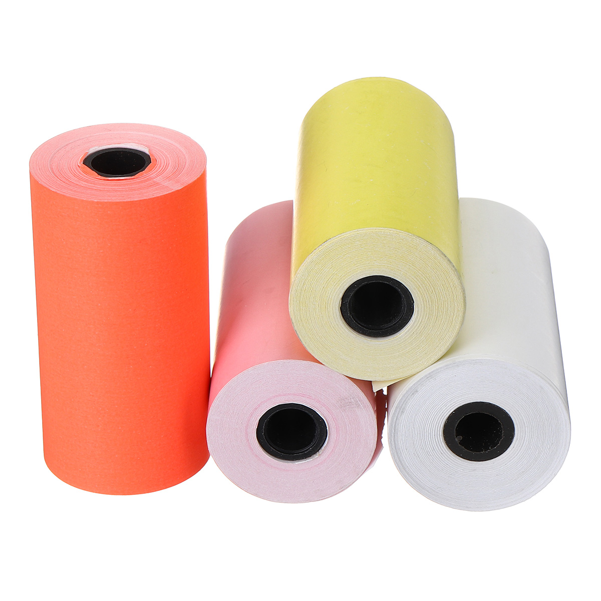 Roll Printer paper Yellow Pink White