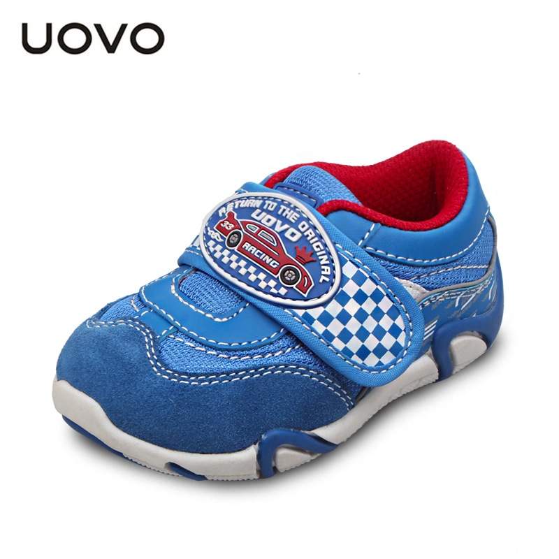 UOVO spring boys shoes little children sport shoes synthetic pu toddler boys shoes little kids shoes